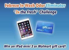 Win an iPad Mini or $50 Walmart GiftCard - enter to win!