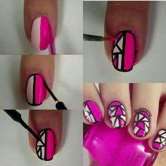 Art nail desing