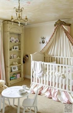 11. #Think Royalty - 34 Baby #Nursery Ideas That You're #Going to Love ... → #Parenting #Traditional