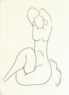 Matisse, illustration for a book of MALLARMÉ poems Henri Matisse, Matisse Drawing, Matisse Art, Matisse Tattoo, Figure Drawing, Line Drawing, Painting & Drawing, Painting Lessons, Franz Kline