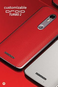 Stand out with completely customizable back and accents in the DROID Turbo 2. It's the mobile phone that works for you, featuring TurboPower charging and Moto Enhancements. Designed to make life beautiful.
