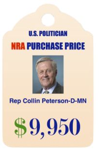 Election Research - Politicians who receive funding from the NRA