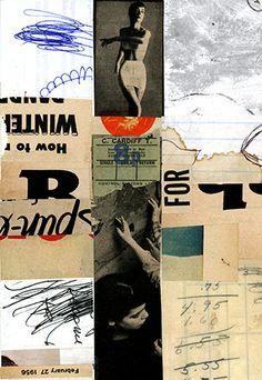 random conversations…cut/paste collage on paper,2013