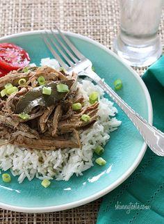Slow Cooker Filipino Adobo Pulled Pork | Slim Down Recipes