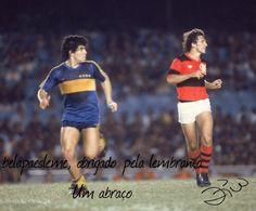 Diego- Zico, Boca- Flamengo.