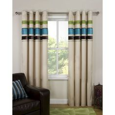 Joseph lined eyelet curtains Multi, love the colours but think it would probably clash with everything else I own. Joseph, Colours, Curtains, Mood, Home Decor, Blinds, Decoration Home, Room Decor, Interior Design