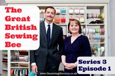 Fabrics, patterns and techniques from episode 1 of series 3 of The Great British Sewing Bee