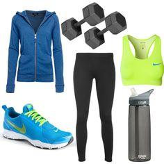 Fitness girl by kandyzz on Polyvore