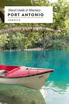 Jamaica Travel Guide to Port Antonio and Portland, including the Blue Lagoon, Frenchman's Cove and more!