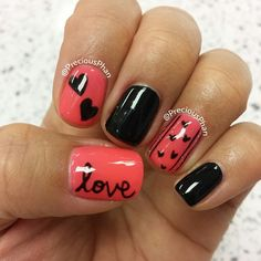 Nails Inspiration | 12 Amazing Valentine's Day Nail Ideas | Check out http://www.nailsinspiration.com/ for more inspiration!