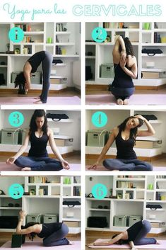 Sequence of yoga postures for the cervicals and shoulders yoga y salud Meditation Exercises, Yoga Meditation, Trx Yoga, Yoga Style, Reiki Room, Neck Yoga, Iyengar Yoga, Yoga Routine, Pilates Workout