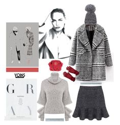 """Gray Matters'"" by dianefantasy ❤ liked on Polyvore featuring Chanel, fashionset, polyvoreeditorial and yoins"