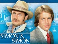 Simon and Simon 1981-89.  Rick and AJ.  Loved them.  Ummm, guess why I wanted to name my son AJ?  :)