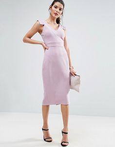 ASOS V Front V Back Dress
