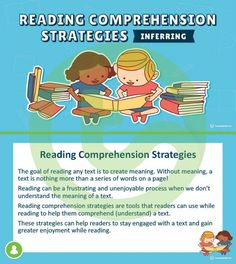 Teaching Resource: A 13 slide editable PowerPoint template explaining the reading comprehension strategy of inferring.