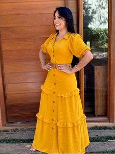 Long Skirt Outfits, Modest Outfits, Indian Fashion Dresses, Teen Fashion Outfits, Glam Dresses, African Dress, Short Sleeve Dresses, Dresses With Sleeves, Designer Dresses