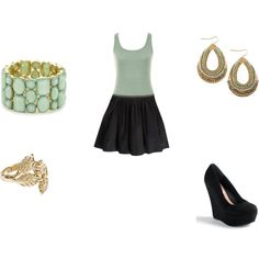 Mint, created by shiannasepulveda on Polyvore