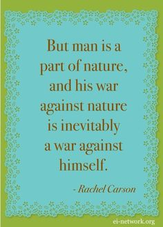 Rachel Carson nature quotation
