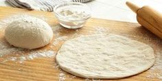 Parmesan pizza dough is a favorite of my family! Everyone loves the flavor of the cheese in this Parmesan thin crust pizza dough recipe. It is also so easy to Pizza Tradicional, Pizza Recipes, Cooking Recipes, Best Pizza Dough Recipe, Thin Crust Pizza, Home Made Pizza Crust, Good Pizza, Perfect Pizza, Quick Pizza