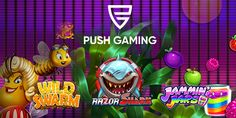 Say hello to Push Gaming and try the best slots from top game provider at www.eat-sleep-bet.com. Best Online Casino, Casino Games, Eat Sleep, Online Games, Say Hello, Have Fun, Gaming, Good Things, Top