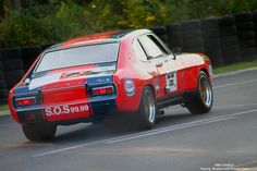le-mans-classic-2010 1970 Ford Capri 2600 RS
