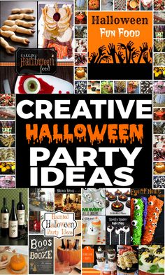 Creative Halloween Party Ideas as seen on Scraptastic Saturdays Linky Party.  Come Join the fun at Scrapality.com