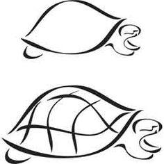 Sea Turtle Outline