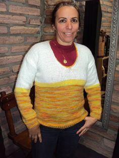 blusão feminino em lã