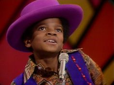 """Michael Jackson, 11 years old, performing Dec 1969 with his brothers // Jackson 5 on """"The Ed Sullivan Show"""" before release of debut album"""