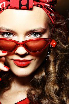 """fashion-binge:    Monika Jagaciak """"Jay"""" for Anna Sui"""