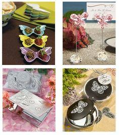 Butterfly wedding favor ideas