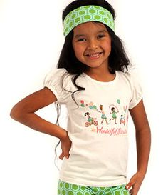 Hopscotch Tee size 2 wonderful parade collection