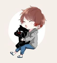 キヨ Cute Anime Guys, Mystic Messenger, Anime Chibi, Drawings, Illustration, Cute Boys, Anime Girls, Sketches, Illustrations