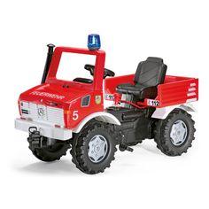rolly®toys rollyFire Unimog mit Schaltung und Bremse 036639 bei baby-markt.at - Ab 20 € versandkostenfrei ✓ Schnelle Lieferung ✓ Jetzt bequem online kaufen!