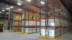 California warehouse installation with seismically engineered FlexRack® pallet rack from Next Level. Storage Solutions, Warehouse, Pallet, California, Home Decor, Shed Base, Decoration Home, Shed Storage Solutions, Room Decor