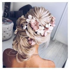 65 Long Bridesmaid Hair Bridal Hairstyles for Wedding 2017 ❤ liked on Polyvore featuring accessories, hair accessories, bridal hair accessories, long hair accessories and bride hair accessories