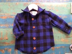 'lil man flannel Oliver + S sketchbook shirt sewing pattern