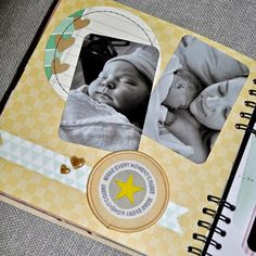 Finding Beauty in Life: Scrapbook Monday: Pregnancy Mini Album - Gift for Mother's Day