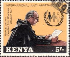 Postage Stamps Kenya 1978 International Anti-Apartheid Year SG 146 Fine Used Scott 136 Other African Stamps HERE