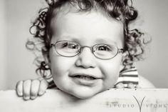 Kids in glasses melt my heart.  <3