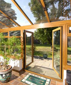 We're loving this heatwave! Open or closed, patio doors let the light flood into your room, and offer an almost panoramic views of your outdoor area. They also offer easy access to the garden and help your home breathe Window Manufacturers, Upvc Windows, Glass Room, Pergola Patio, Rustic Feel, Patio Doors, Conservatory, Interior Inspiration, Hardwood
