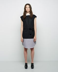 Band of Outsiders - Patchwork Shirtdress