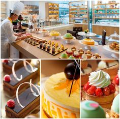 The Cake Shop at Mandarin Oriental Pudong, #Shanghai has #cakes to delight every guest's palate!