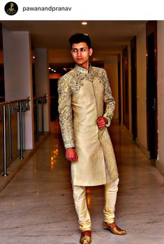 Shahib bhai Engagement Dress For Men, Wedding Dress Men, Wedding Men, Wedding Suits, Sherwani Groom, Mens Sherwani, Wedding Sherwani, Indian Groom Wear, Indian Suits