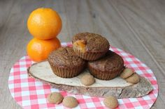 Recept voor glutenvrije speculaasmuffins met mandarijn