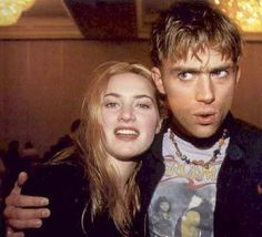 Kate Winslet & Damon Albarn (Blur) - oh the Nostalgia, Damon Albarn, Jamie Hewlett, Charming Man, Britpop, Kate Winslet, Music Mix, Gorillaz, Blur