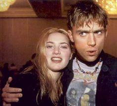 Kate Winslet & Damon Albarn (Blur) - oh the 90's...