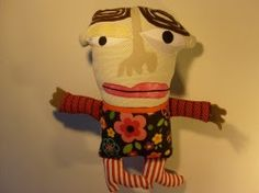 """Myrtle"" Recycled Handmade Plush by Tracy Viverretta"