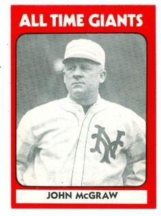 john mcgraw baseball - Google Search