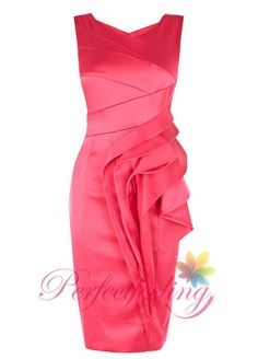 2014 New pink mother of the bride dresses cap by PerfectFeeling, $89.00